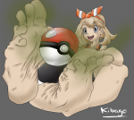 arches barefoot feet smell may murati2882_(artist) pokeball pokemon soles toes wrinkles  rating:Questionable score:2 user:Kibago