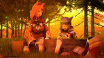 3d anticipation barefoot bondage cat catgirl feet knismotik_(artist) nia_(xenoblade_chronicles_2) pyra soles stocks tickling toes xenoblade_chronicles_2  rating:Questionable score:2 user:Viewtiful101