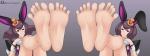 2girls ace_attorney betty_de_famme bonny_de_famme omegazero01_(artist) pov soles toes twins  rating:Safe score:5 user:tap33
