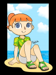 1girl 5_toes animal_crossing animal_crossing_girl animal_crossing_new_horizons beach clothed cute girl looking_at_viewer new_horizons nintendo relaxed relaxing sandals shoe toes villager  rating:Questionable score:3 user:loaf10