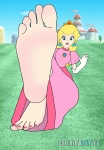 dettabyte feet peach princess_peach sole  rating:Questionable score:5 user:Duz