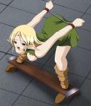 anime blonde_hair bondage breasts deedlit elf female green_eyes hentai  rating:Explicit score:0 user:Wyshied
