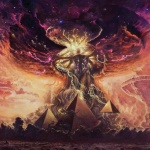 art clouds colors elder_god eldritch eldritch_abomination god pyramids tentacles  rating:Safe score:0 user:Doktor_Rotwang
