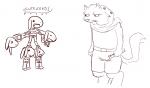 basketgardevoir_(artist) cute cutebold drawfaggotry gnoll joke monochrome parody  rating:Safe score:0 user:Jive_Teej