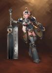 artist_request character fantasy female sword tagme  rating:Safe score:0 user:hilohello