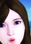 blue_eyes brown_hair card female honey_select mole original pale_skin  rating:Safe score:-2 user:illusioncards