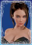 bangs blue_eyes brown_hair card female honey_select original pinoyarchangel portrait top_rated  rating:Safe score:43 user:Anonymous