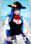 blue_hair hat hinanawi_tenshi red_eyes touhou  rating:Questionable score:6 user:Asmodai