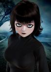 black_hair cartoons female gothic high_rated honey_select hotel_transylvania mavis mavis_dracula vampire  rating:Questionable score:44 user:kevodah