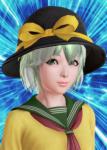 card close-up female green_eyes green_hair hat honey_select komeiji_koishi school_uniform short_hair subterranean_animism touhou touhou_project video_games  rating:Safe score:1 user:BigCirno