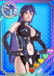 armor card female honey_select hyperdimension_neptunia iris_heart long_hair party_dlc purple_hair red_eyes sadist thicc video_games  rating:Questionable score:10 user:BigCirno