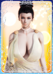 black_hair blue_eyes capcom excella_gionne female honey_select large_breasts resident_evil resident_evil_5 video_games  rating:Questionable score:3 user:Wasaby85