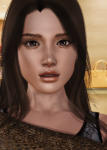 bongo brown_eyes brown_hair celebrity female hispanic jessica_alba latina mexican realistic  rating:Questionable score:31 user:Bongo