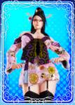 bayonetta bayonetta_(game_series) black_hair card female garter_belt honey_select kimono stockings video_games  rating:Safe score:0 user:Anonymous