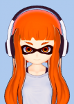 female inkling koikatsu nintendo splatoon squid video_games  rating:Safe score:16 user:Rhinestones