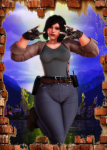 bbw female fortnite honey_select penny thicc video_games  rating:Questionable score:3 user:exercutter