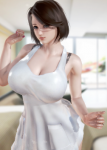 large_breasts brown_hair honey_select milf tagme  rating:Questionable score:16 user:fireball141