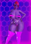 alien large_breasts blue eyes large_ass maka purple purple_skin starlene  rating:Questionable score:-13 user:TheSalletKnight