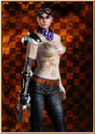 amputee bald blue_eyes fakku female furiosa honey_select_unlimited imperator_furiosa mad_max mad_max:_fury_road no_mods robot_arm shaved_head  rating:Questionable score:2 user:bongzilla