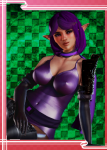 champions elf female gladiator_left_arm gloves honey_select large_ass onepiece_(swimsuit) paladins pantyhose pointed_ears purple_eyes purple_hair skye_(paladins) tagme thick_thighs video_games wedding_gloves_long  rating:Questionable score:4 user:Gaswipe