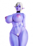 bbw blue_eyes collar drow elf hcomics honey_select huge_breasts large_ass mana_world muscular nude pubic_hair purple_skin syx thick_thighs top_rated white_or_silver_hair wide_hips wide_slider_mod  rating:Questionable score:34 user:Prosto_Pizdec