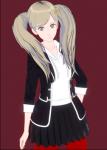 ann_takamaki blonde_hair koikatsu persona_5 tagme takamaki_ann  rating:Questionable score:3 user:SaintPriest