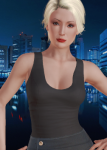 actress american blonde_hair brown_eyes card casual caucasian celebrity female gilf honey_select nana_visitor old realistic short_hair  rating:Safe score:4 user:Jfree28