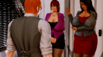 dark_skin honey_select marie_rose office orange_hair red_hair rufus scene studio_neo sugimoto_shoko  rating:Safe score:1 user:Lot_knock