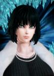 anime blizzard_of_hell female fubuki green_eyes green_hair hero honey_select manga meish mods one_punch_man  rating:Questionable score:-1 user:meish