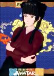 avatar avatar_the_last_airbender black_hair cartoons female koikatsu mai  rating:Questionable score:4 user:SaintPriest