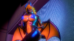 anthro blonde_hair dragon epicdragon female furry honey_select horns latex monster monster_girl non-human piercings scalie studio_neo tagme tail teal_eyes wide_slider_mod wings  rating:Questionable score:1 user:EpicDragon