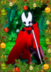 anthro bug card female hollow_knight hornet hornet_(hollow_knight) insect koikatsu princess red_dress video_games  rating:Explicit score:0 user:Comet