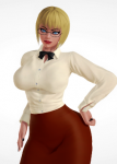 blonde_hair dc dc_comics female galatea honey_select meish mods something_unlimited villain  rating:Questionable score:-2 user:meish