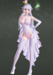 boo boosette mario princess queen queen_boo white_or_silver_hair  rating:Questionable score:3 user:marqo