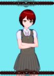 danganronpa koizumi mahiru red_hair tagme  rating:Questionable score:0 user:xirotres