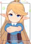 anime blonde_hair blue_eyes charlotta charlotta_fenia female flat_chest gbf granblue granblue_fantasy harvin koikatsu loli long_hair video_games  rating:Questionable score:14 user:hmmmmname