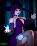 card honey_select mismagius nintendo pale_skin pokemon purple_hair red_eyes snowflaked video_games witch  rating:Questionable score:4 user:dynamicentry