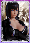 black_hair blue_eyes boots card dark_skin honey_select nico_robin one_piece pirate  rating:Questionable score:-3 user:WhoWantsTacos