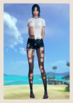 ai_girl ai_shoujo black_hair brown_eyes card female original pantyhose torn_clothes  rating:Safe score:0 user:zasasza