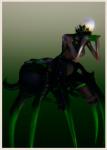ai ai_girl ai_shoujo aigirl aisyoujyo character_card female green monster spider venom  rating:Questionable score:0 user:jus_ko2019