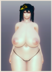 ai_girl ai_shoujo azur_lane bangs bbw card female hair_ornament huge_breasts ijn_taihou large_ass large_hips long_hair mobile_game nude pubic_hair red_eyes sakura_empire taihou thick_thighs twintails  rating:Questionable score:0 user:blacksmith01