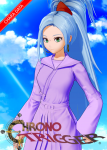 blue_hair card chrono_cross chrono_trigger earrings female green_eyes koikatsu long_hair ojousama ponytail robe schala schala_zeal video_games  rating:Safe score:3 user:Chargin_Chuck