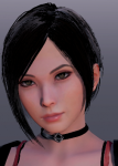 ada_wong asian black_hair brown_eyes capcom card choker dress female honey_select_2 johohontas resident_evil resident_evil_2 short_hair video_games  rating:Safe score:2 user:Johohontas