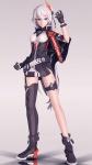 asymmetrical_legwear bodysuit gloves heterochromia honkai_impact kiana_kaslana mihoyo tagme tda void_drifter white_hair  rating:Safe score:1 user:MMD-Jexi