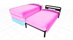 bed blue by:fdwn item pack pink rose  rating:Questionable score:1 user:FDWn
