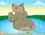 bbw bubbles fart furry gbstudios_(artist) gloria hippo madagascar tagme  rating:Questionable score:-1 user:grayvii