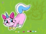 awfulartist_(artist) fart furry quasarbooster_(artist) tagme unikitty  rating:Safe score:1 user:Quasarbooster