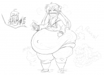 bbw bloated fart fraap_(artist) lucky_star tagme  rating:Questionable score:2 user:Moonlight-SY3