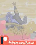 alien batcat_(artist) gas_mask leg_lift mass_effect quarian shart wet_fart  rating:Questionable score:1 user:BatCat