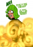 powerful_fart tagme tatsumaki  rating:Questionable score:-2 user:TheGreatIron